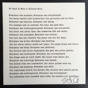 Marfa Love Poem