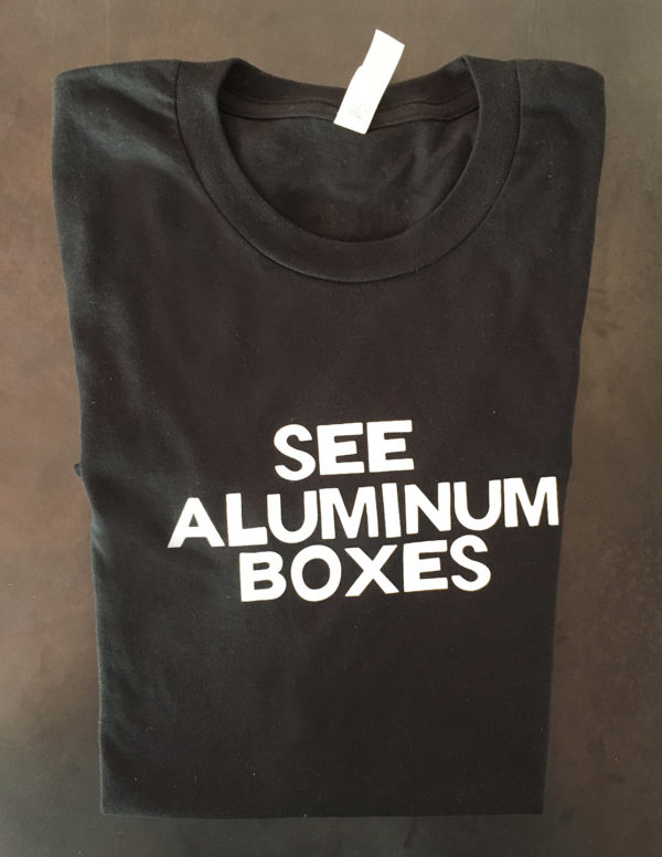 See Aluminum Boxes