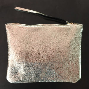 Mellow Dawn Silver clutch