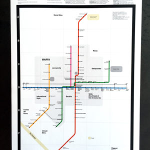 Marfa Subway Map
