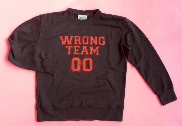 Wrong Team Sweatshirt