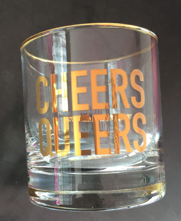 WRONG'S CHEERS QUEERS GLASSES